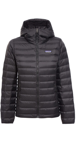 Patagonia Down Sweater Hoody Women Black